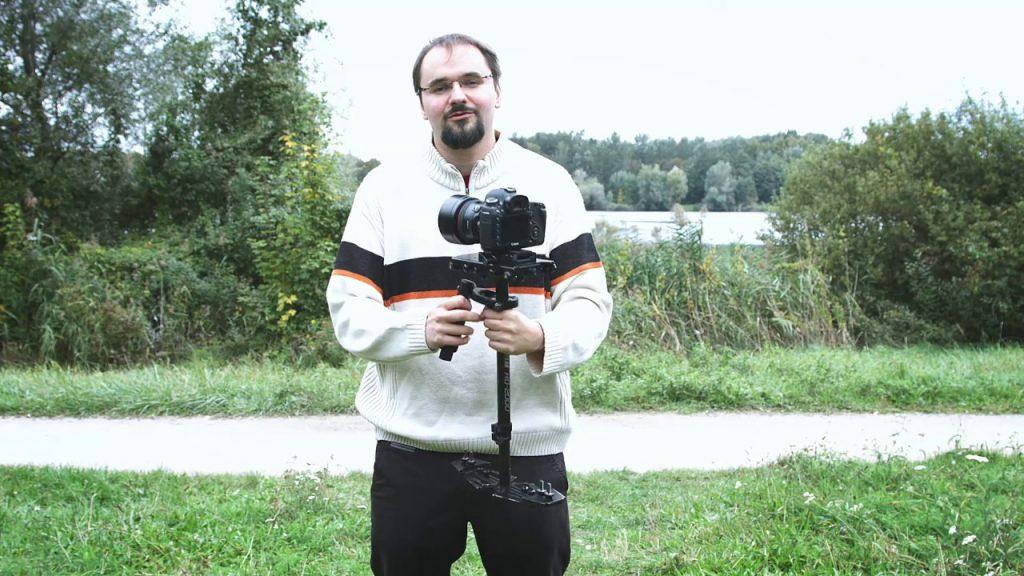 Filmen mit der Glidecam HD-2000