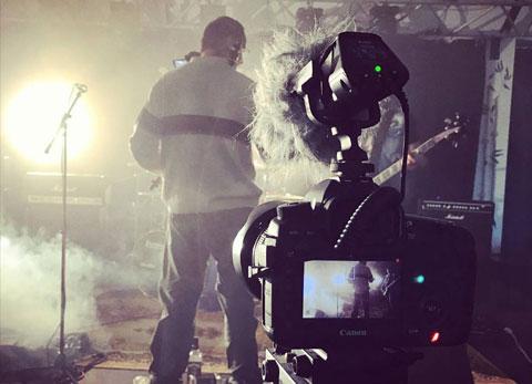Bewegtbildkommunikation Musikvideo Dreh